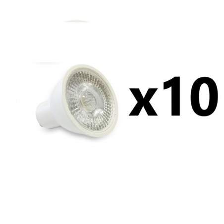 PACK 10 UNID BOMBILLAS LED  GU10