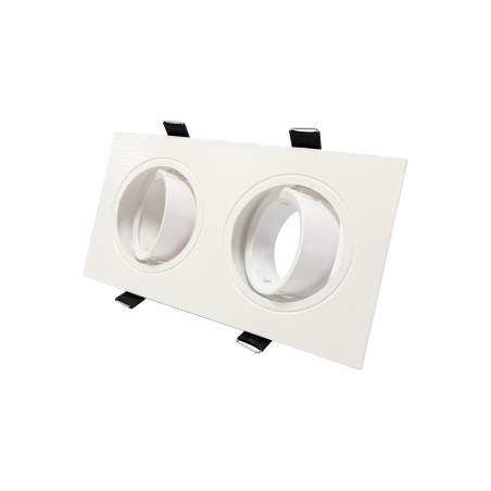 Ojo de buey doble orientable basic