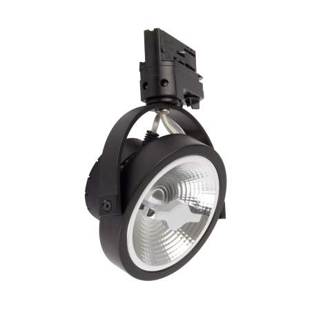 Foco LED 15W Cree AR111 Regulable Negro para Carril Trifásico