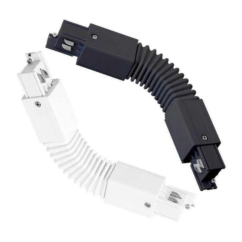 Conector flexible para carril LED trifásico