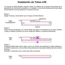 TUBO LED PESCADO
