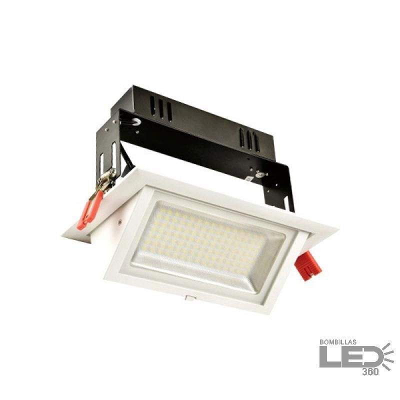 Foco led direccional 60W Rectangular Blanco con Chip SAMSUNG