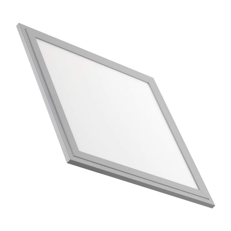 Panel LED Slim 30x30cm 18W Marco Plata
