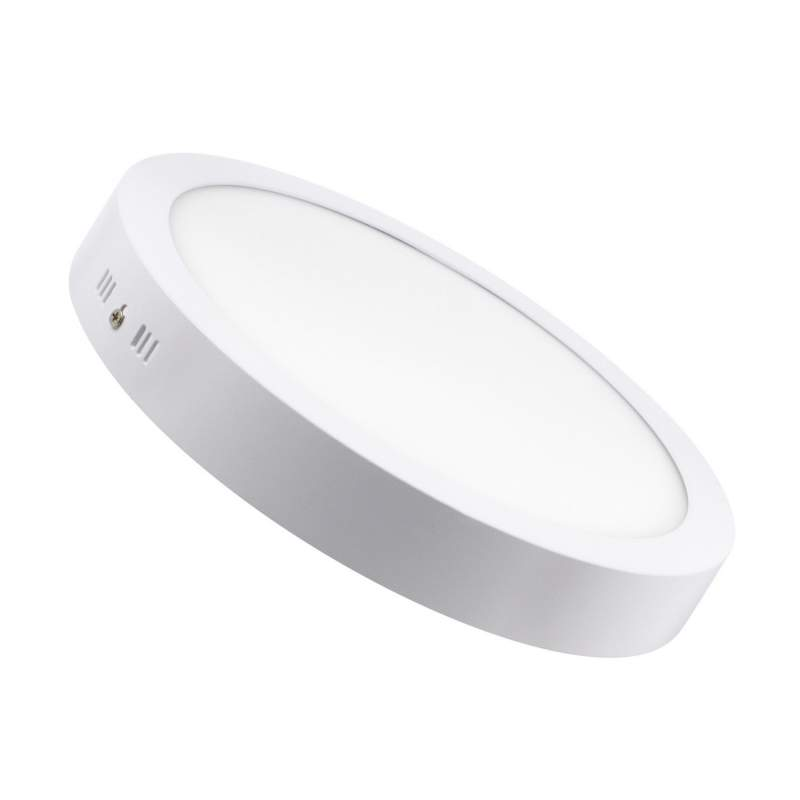 Downlight led redondo de superficie 24W