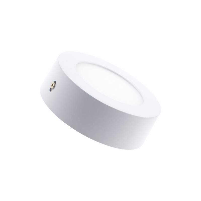 Downlight led redondo de superficie 6W