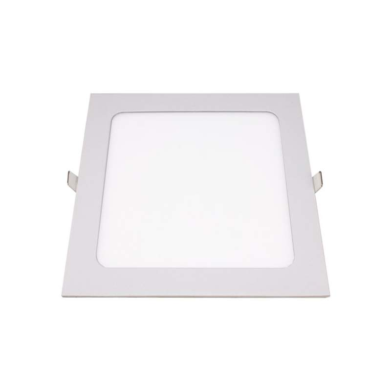 Downlight LED plano cuadrado 24W blanco