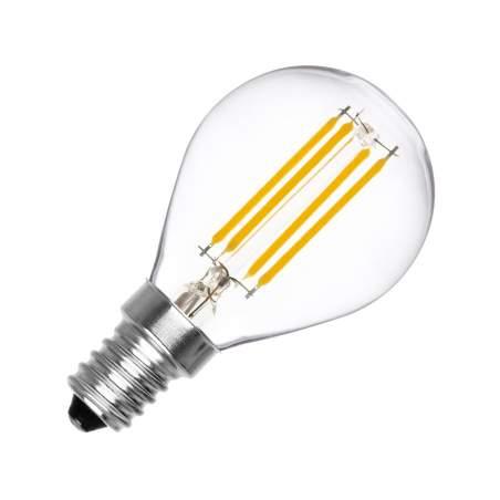 Bombilla LED vintage E14 Regulable Filamento G45 3W