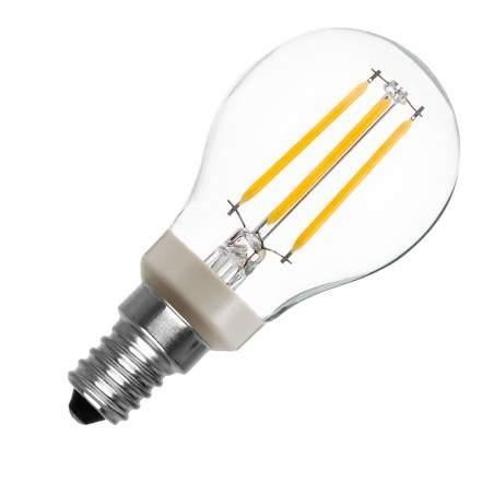 Bombilla LED vintage E14 Philips Regulable Filamento P45 4.5W