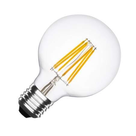 Bombilla LED Vintage E27 Regulable Filamento G95 5,5W