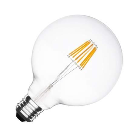 Bombilla LED Vintage E27 Regulable Filamento G125 5.5W