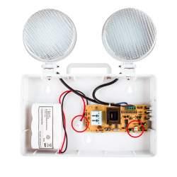 Luz emergencia LED doble circular 3w 405lm