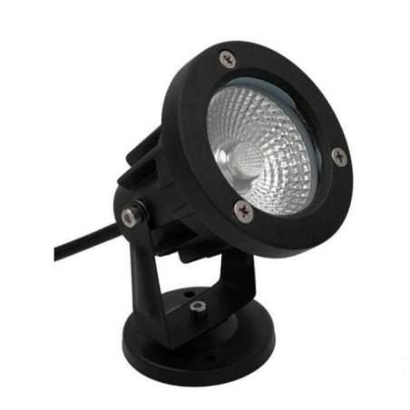 Refletor LED 12W para jardim