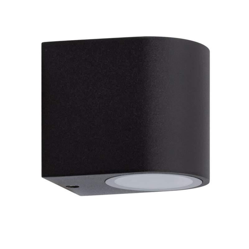 APLIQUE PARED HERMES OVAL NEGRO