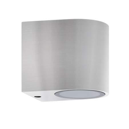 APLIQUE PARED HERMES OVAL ALUMINIO