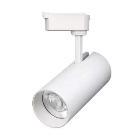 Foco LED carril monofasico PACIFIC 30W Epistar blanco