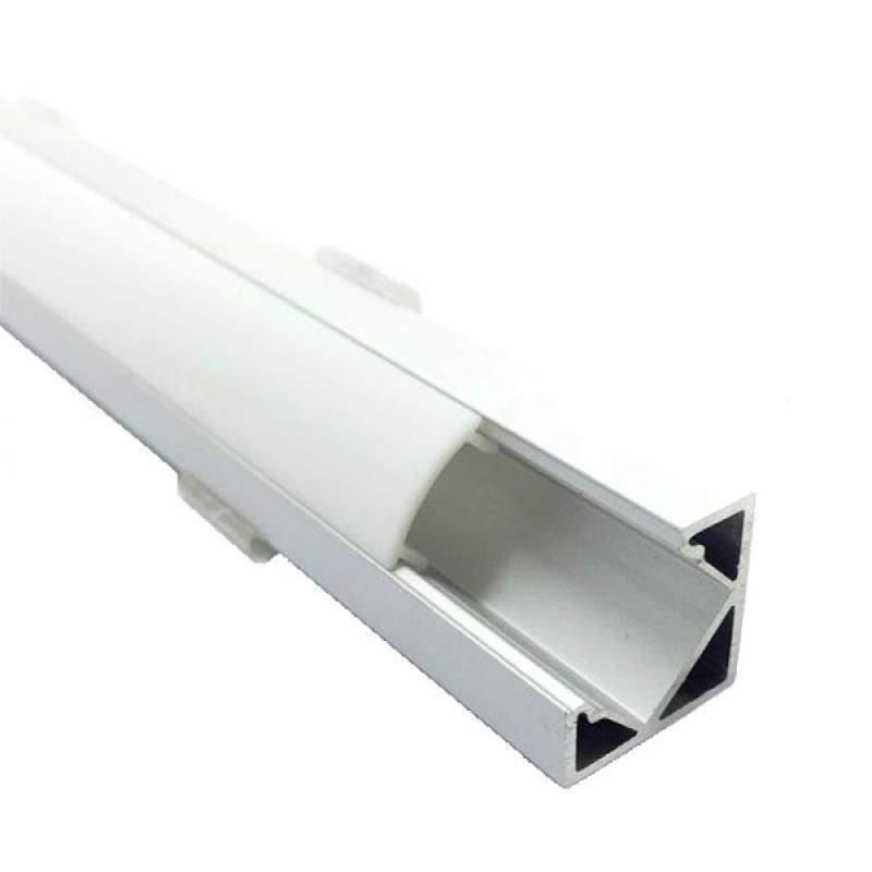 Perfil en Ángulo de Aluminio Tira Led 2m