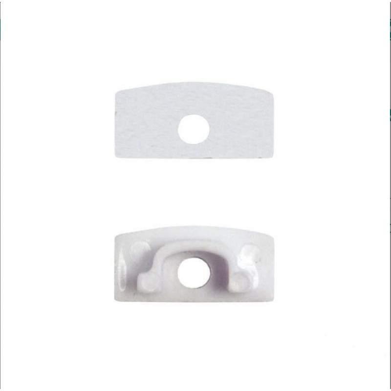 Tapón Final Perfil Superficie Aluminio - Perfil Aluminio Tira LED