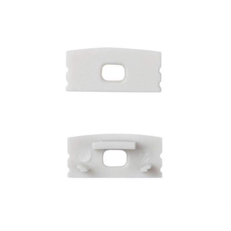 Tapón Final Perfil Empotrable Aluminio - Perfil Tira led