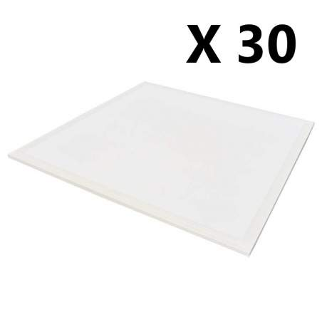 Pack 30 unid Panel led RETROILUMINADO 60x60 40w 4200lm
