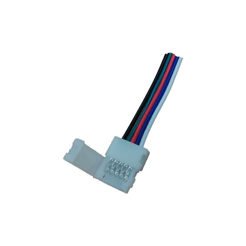 Cable conector Tiras LED 12V-24V RGBW 10mm