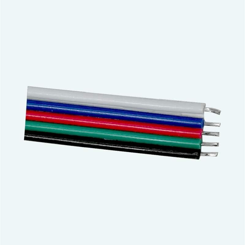 Cable para conexión de tiras led RGBW