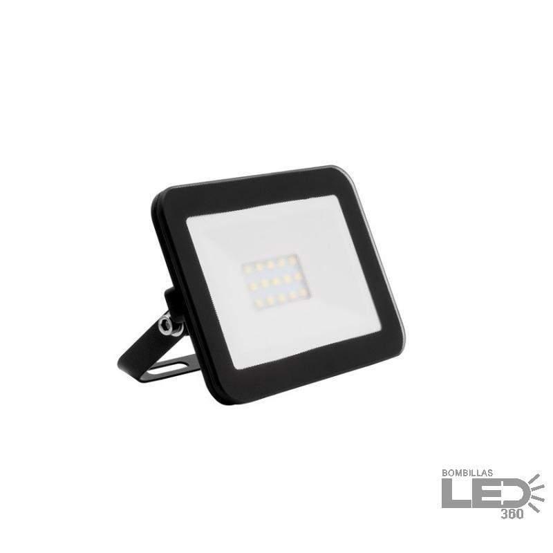 Foco LED Ultrafino Cristal 10W Negro