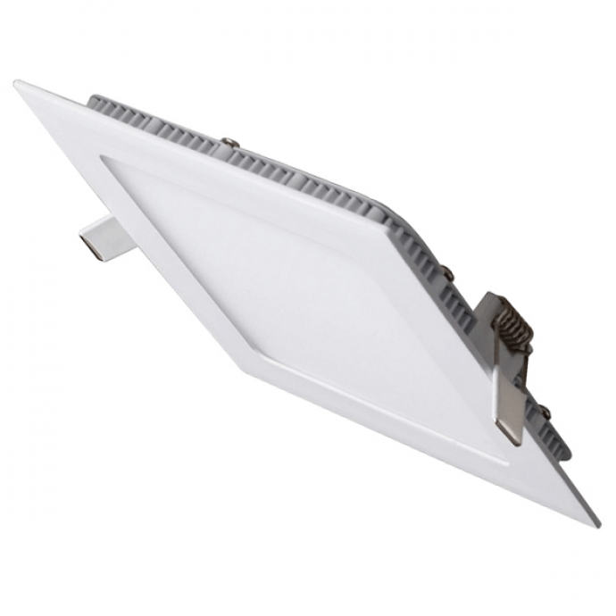 Downlight cuadrado blanco