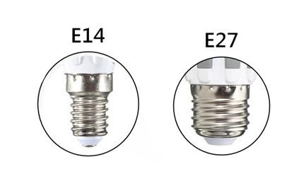 Diferencia entre casquillos y portalámparas. Identifica los casquillos de las bombillas Led y descubre la nomenclatura estandariza para identificarlos.